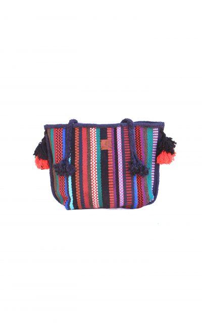 handwoven tote bag Bedouin LUMEYO