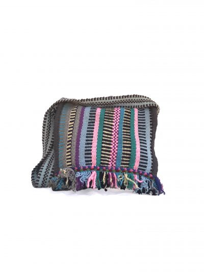 handcrafted cross bag fringed